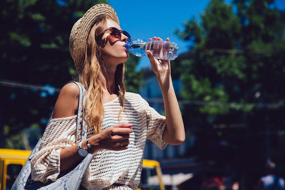 summertime, sun safety, sunblock, hydration, replenishing fluids