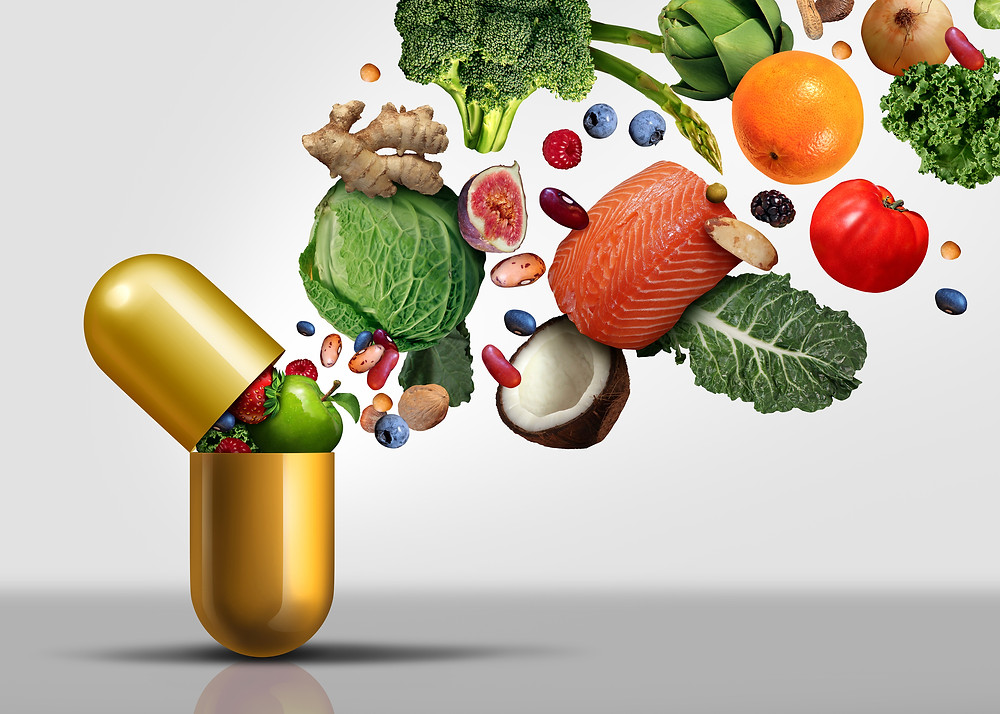dietary supplements, multivitamin, vitamins and minerals in food