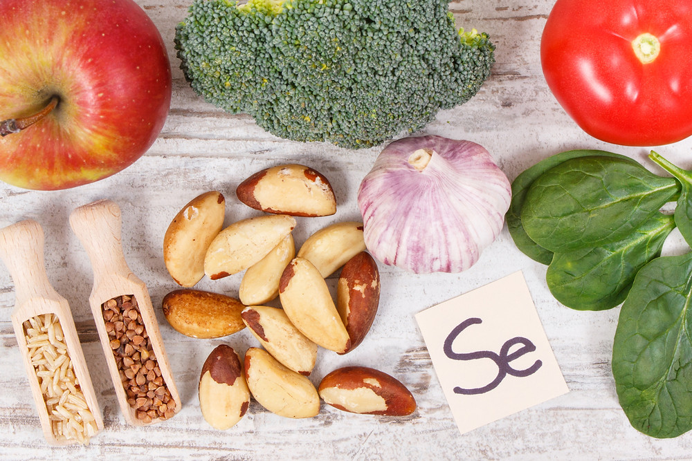 table of food sources of selenium, brazil nuts source of selenium