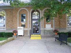 Western District Library entrance