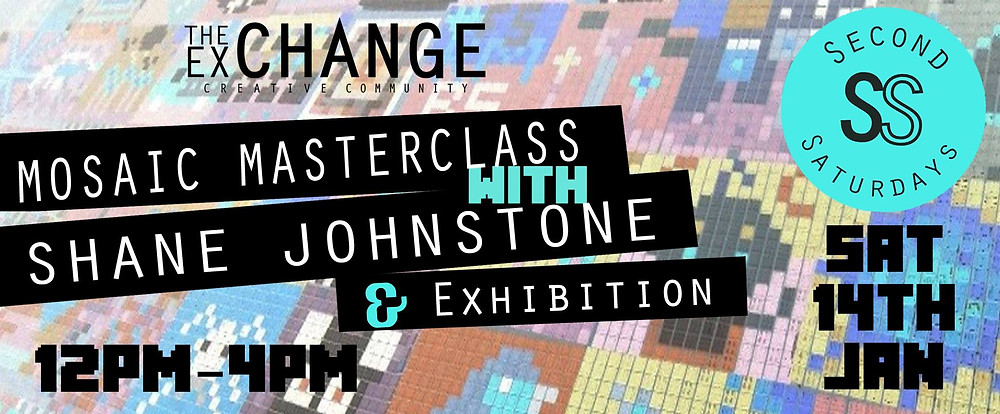 Mosaic Masterclass with Shane Johnstone, Jan 2016
