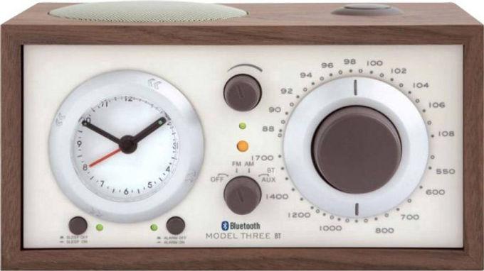 Tivoli Model Three BT Bluetooth / FM / AM Clock radio Walnut / Beige