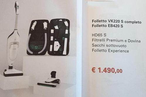 Folletto VK220 S completo + EB420S