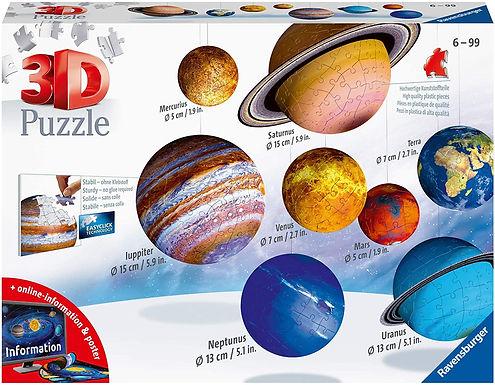 Ravensburger 11668 Il Sistema Planetario 3D Puzzleball, 540 Pezzi