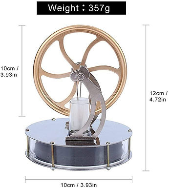 Motore Stirling a bassa temperatura
