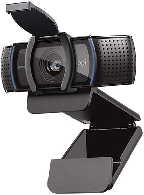Logitech C920S HD Pro Webcam, Videochiamata Full HD 1080p/30fps