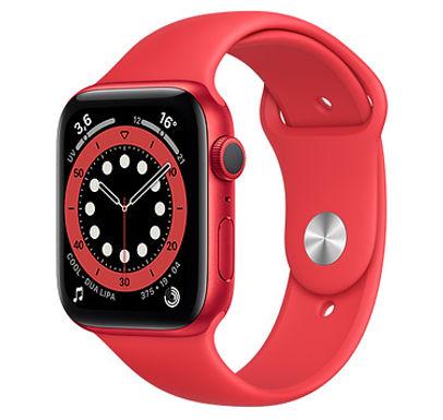 Apple Watch Cassa in alluminio (PRODUCT)RED con Cinturino Sport