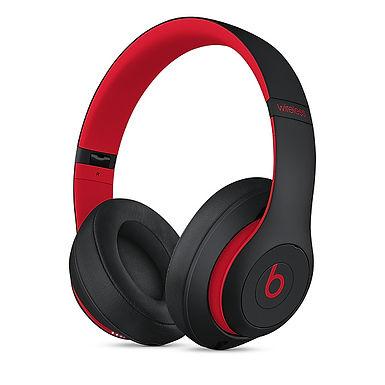 Cuffie overear Beats Studio3 Wireless Beats Decade Collection Nero/rosso ribelle