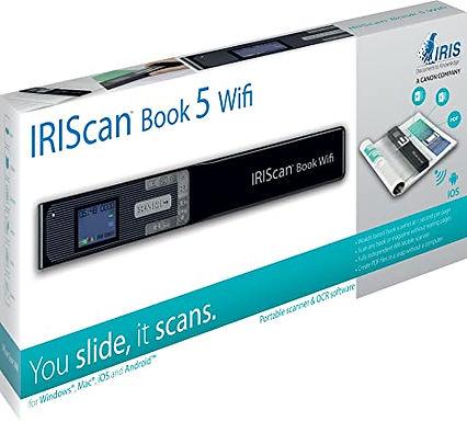 Scanner Iris - Iriscan book 5 wifi - scanner manuale - portatile - usb, wi-fi