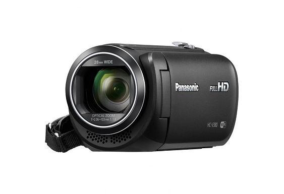 Videocamera Panasonic - Hc-v380 - camcorder - storage: scheda flash hc-v380eg-k