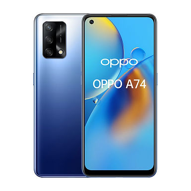 OPPO A74 Midnight Blue
