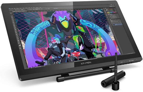 XP-Pen Tavoletta Grafica Monitor IPS HD Artist 22 Pro con Penna Ricaricabile