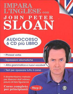 Impara l'Inglese con John Peter Sloan 6 Cd + Libro Step 2 + OMAGGIO