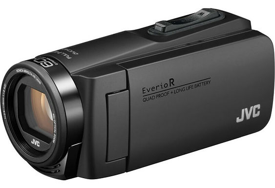 JVC kit videocamera GZ-R495 QuadProof nera
