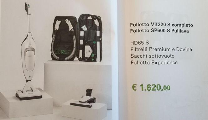Folletto VK220 S completo + SP600 S