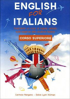 Corso di Inglese - English for Italians - Corso Superiore in DVD Rom + OMAGGIO