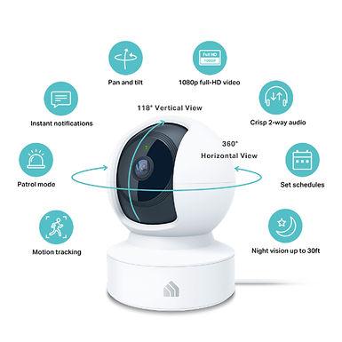 Xiaomi MI Home Security Camera 360° 1080P - Telecamera di sorveglianza