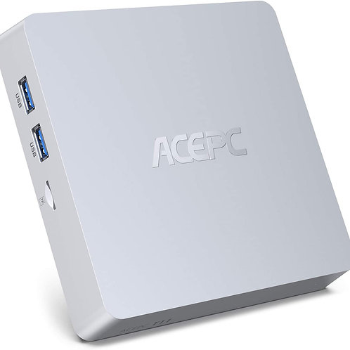 Mini PC, 8GB RAM+128GB ROM Intel Atom x5-Z8350 Windows 10 Pro