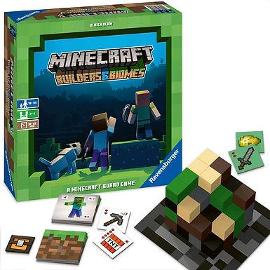 Ravensburger Minecraft Builders & Biomes Gioco da Tavolo, per 2-4 Giocatori