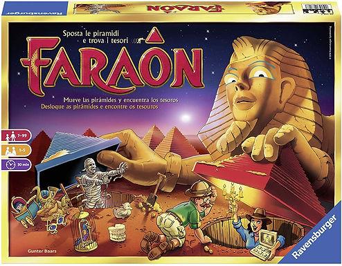 Ravensburger 26718 Faraon, Gioco da Tavolo, per 1-5 Giocatori
