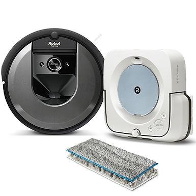 BUNDLE Roomba i7 & Braava jet m6
