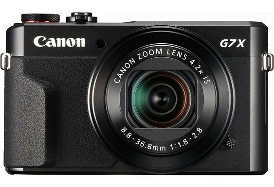 Canon Powershot G7X Mark II + Custodia subacquea WP-DC55