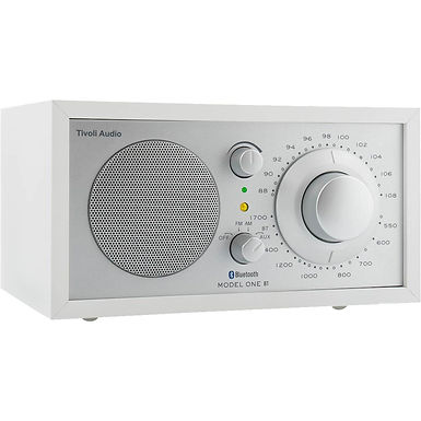 Tivoli Model One BT Bluetooth / FM / AM / Table radio White/Silver
