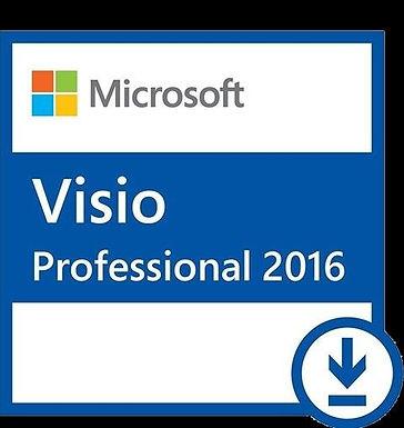 Microsoft office Visio professional 2016 1PC