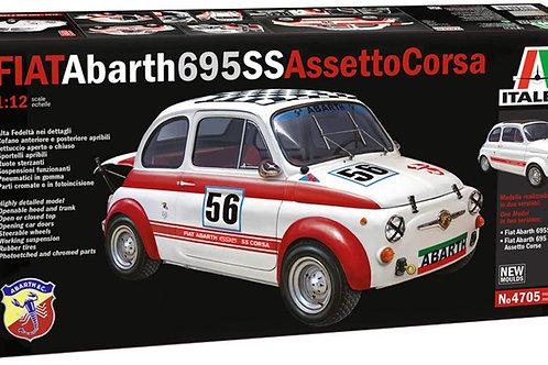 Italeri 4705S 4705-1:12 FIAT Abarth 695 SS/Assetto Corsa