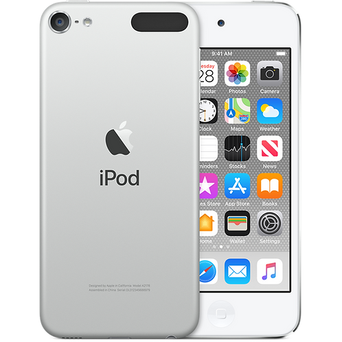 iPod touch 256GB Argento