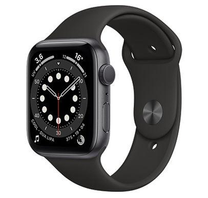 Apple Watch Cassa in acciaio inossidabile color grafite con Cinturino Sport