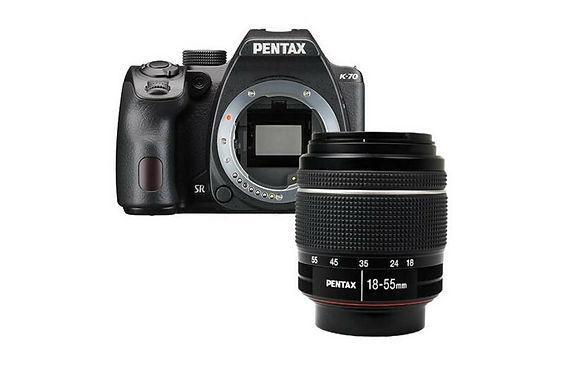 Pentax K-70 Nero + 18-55mm WR
