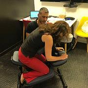 massage amma entreprise sur chaise Paris
