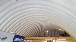 Spray Foam Dome Arch