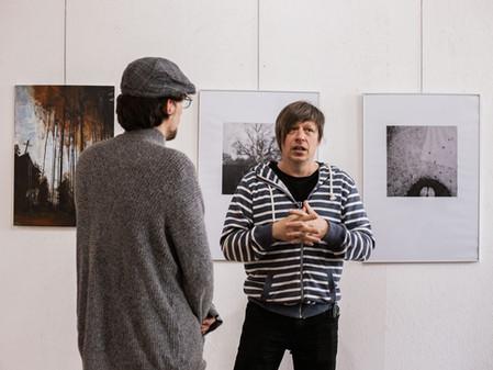 Fotoreport z vernisáže výstavy Janetty Klemensové a Alexandra Klemense