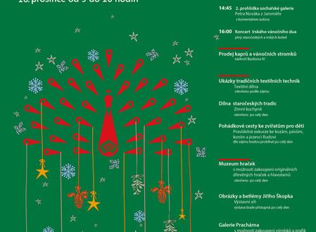Program Vánočních trhů na Bastionu IV.