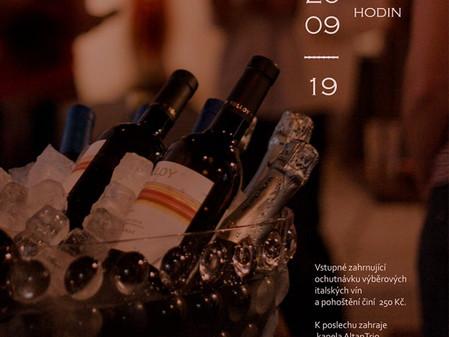 Ochutnávka italských vín 20. září od 19:00