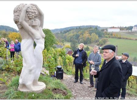 Kukská bohyně vína Petra Nováka