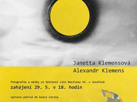 Lokální apokalypsa / Výstava fotografií a maleb Janetty Klemesové a Alexandra Klemense.