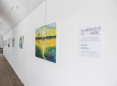 Fotoreport z vernisáže Tomáše Sejkory