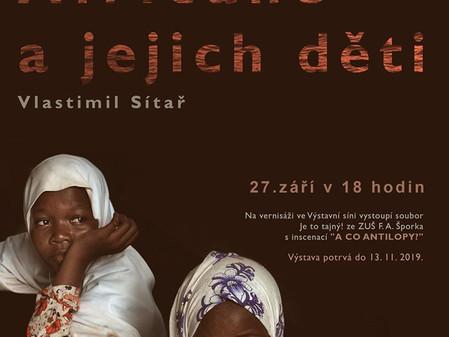 Afričanky, Afričané a jejich děti - vernisáž výstavy fotografií