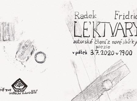 Lektvary / autorské čtení Radka Fridricha