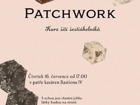 Patchwork / kurz šití šestiúhelníků