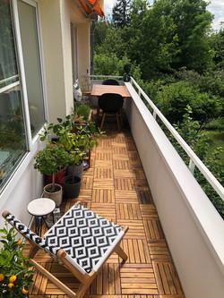 Balkon nachher