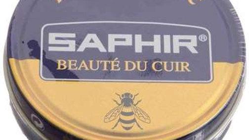 Saphir Shoe Polish Wax 50 ML Tin