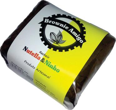 Brownieamigo de Nutella & Ninho
