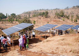 Solar Panels at Baldyachapada