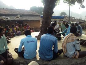 Meeting of Villagers at Behetwadi