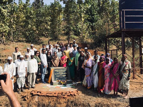 Inauguration of Village Integrated Development Project in Adgaon Nashik