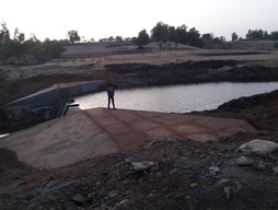 Rain Water Harvesting Bund in Morchundi